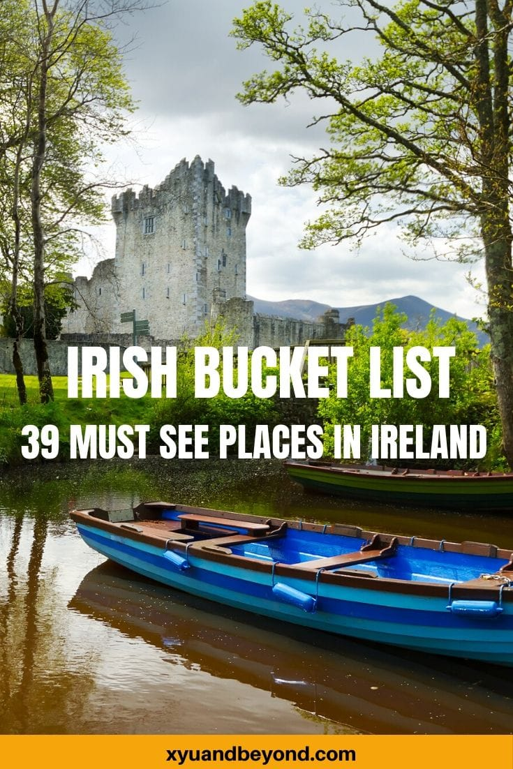 My Ultimate Irish bucket list
