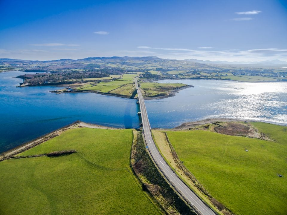 Harry Blaney Bridge located in Co. Donegal Ireland