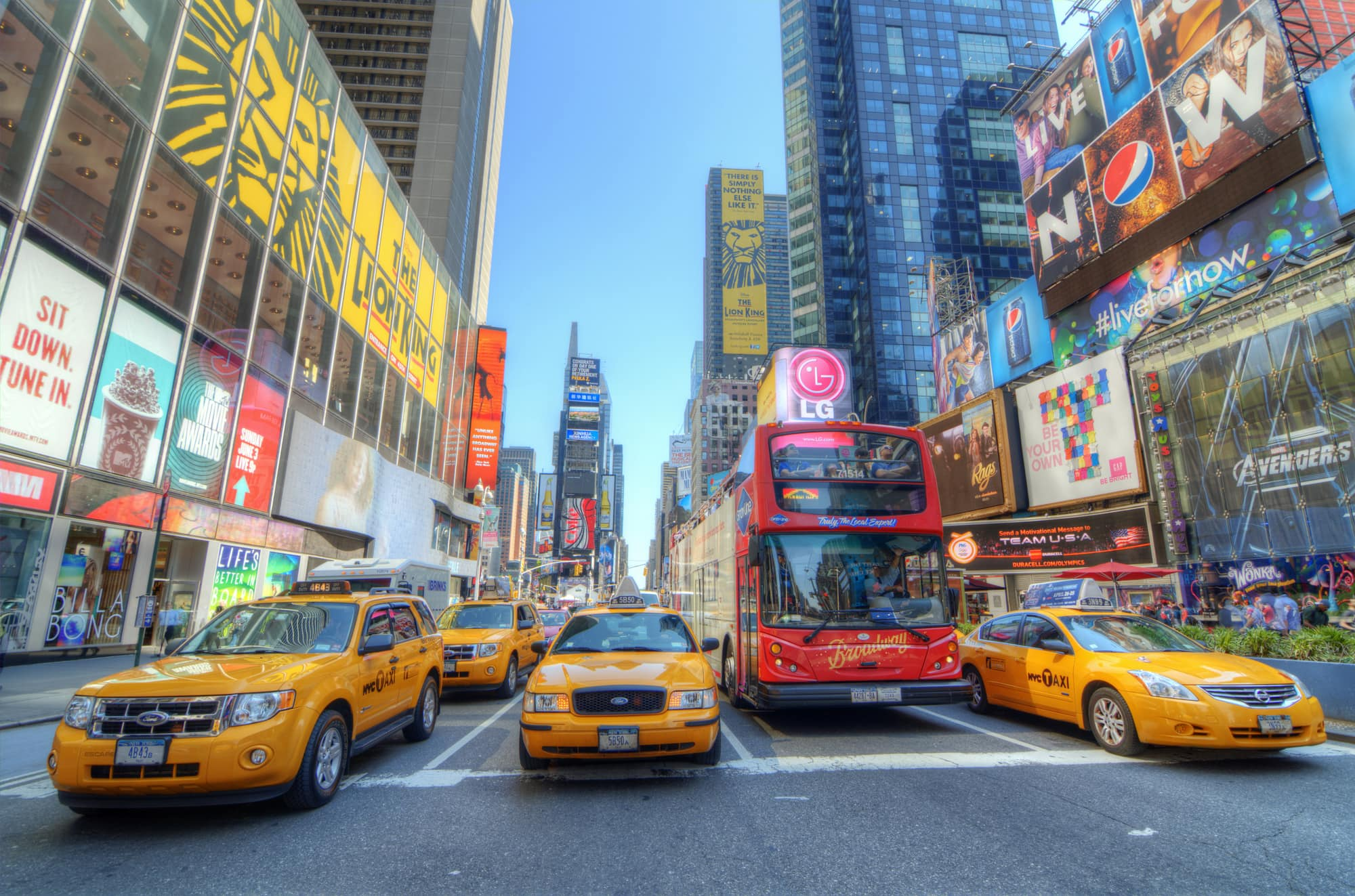 How to take the Hop On Hop Off New York