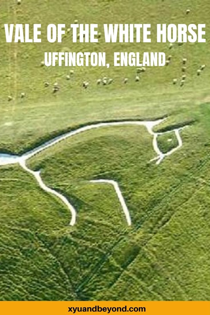 The Uffington White Horse, England's mysterious chalk figure