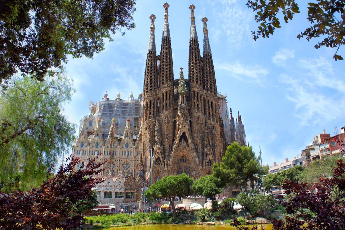 Sagrada Familia  one day in Barcelona