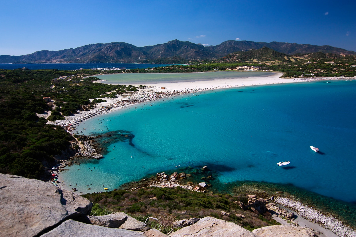 Porto Giunco Beach Sardina