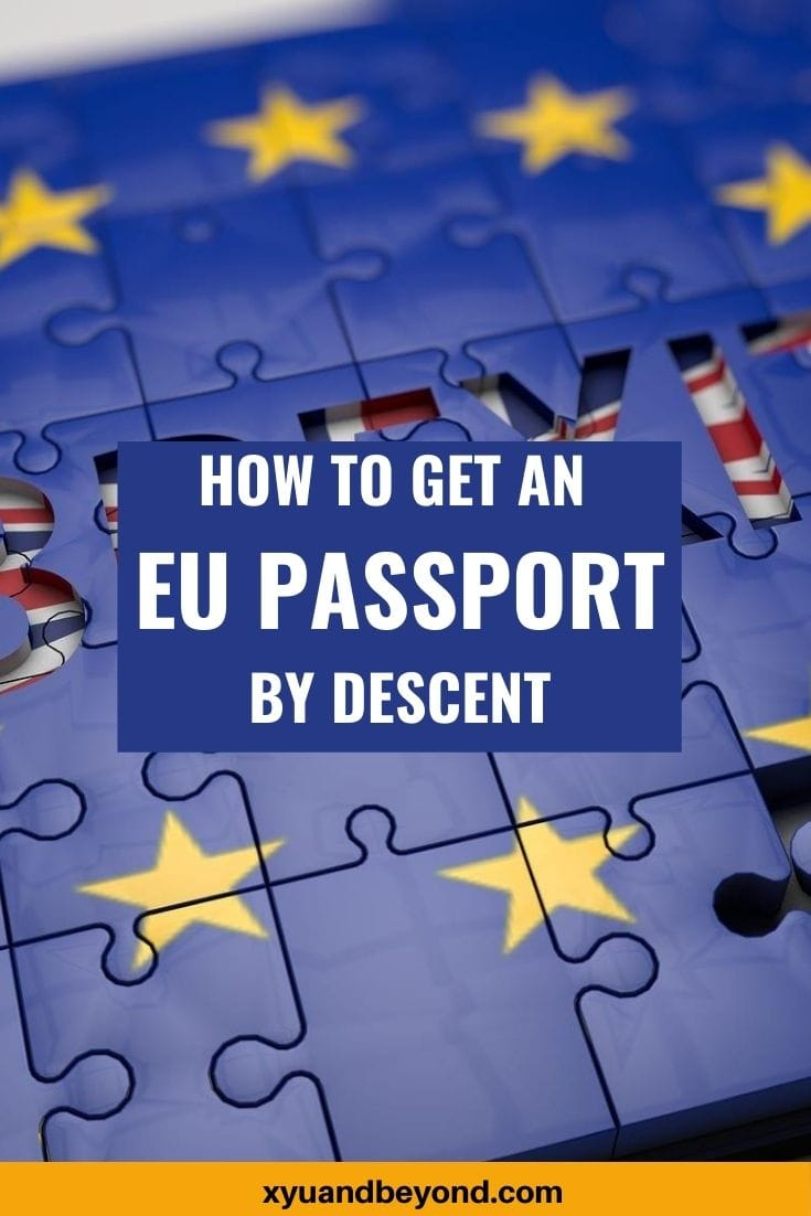 How do I get an EU Passport and EU Citizenship?