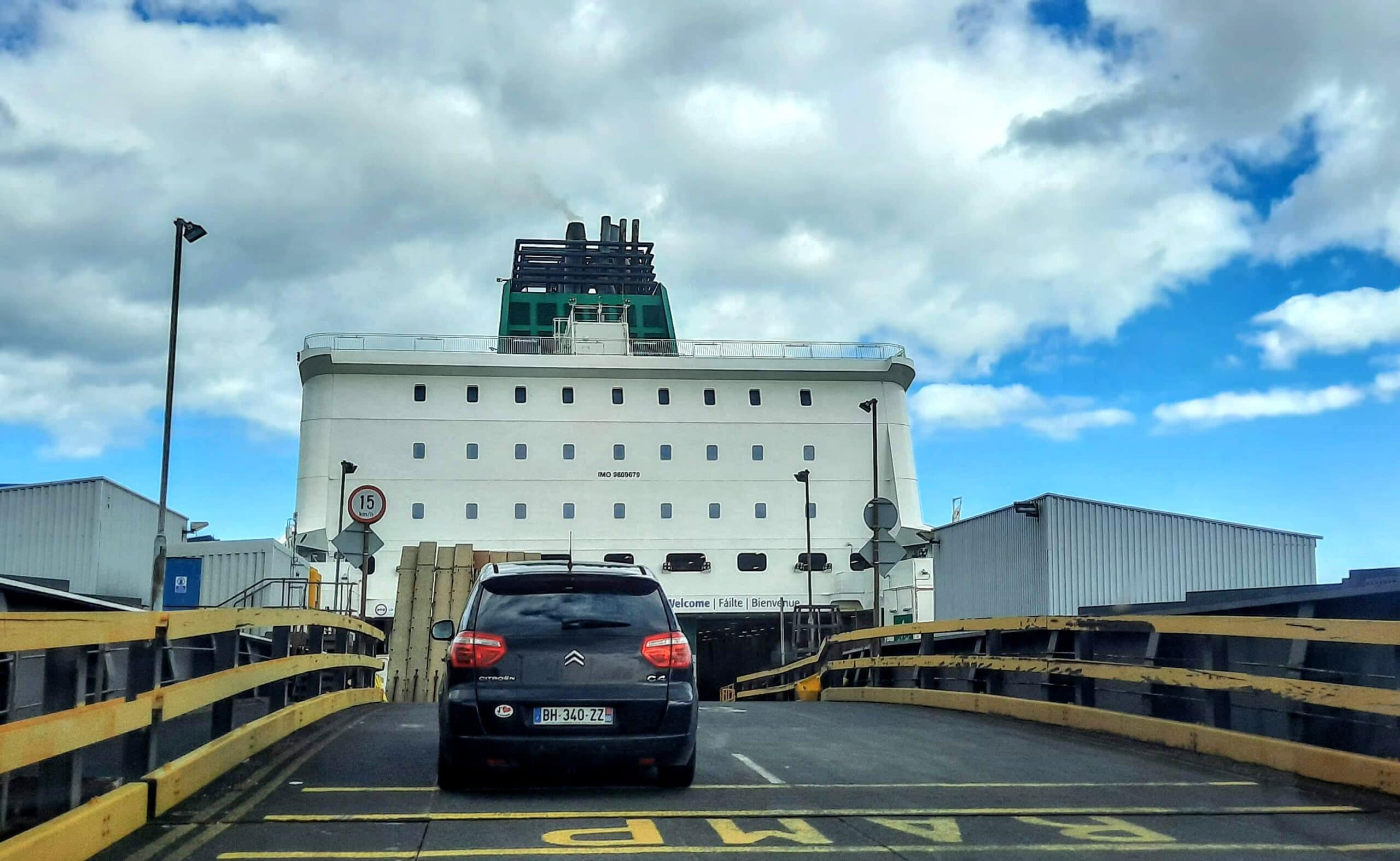 Your guide on taking a ferry from Ireland to France