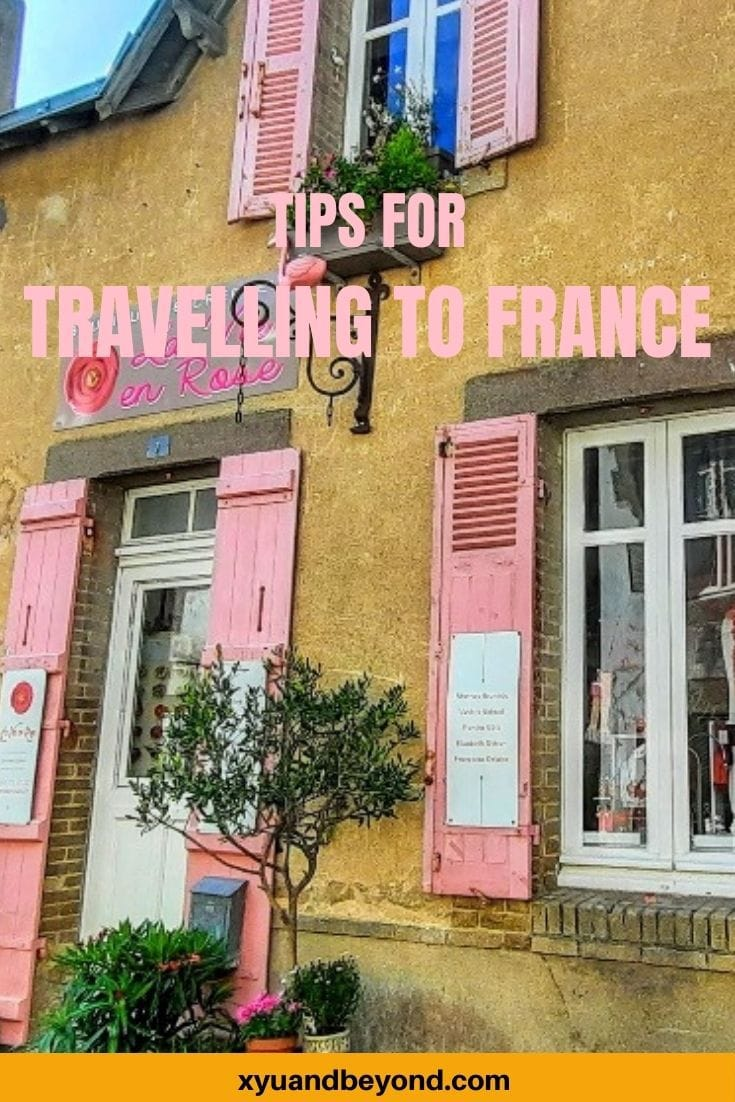 Travelling to France