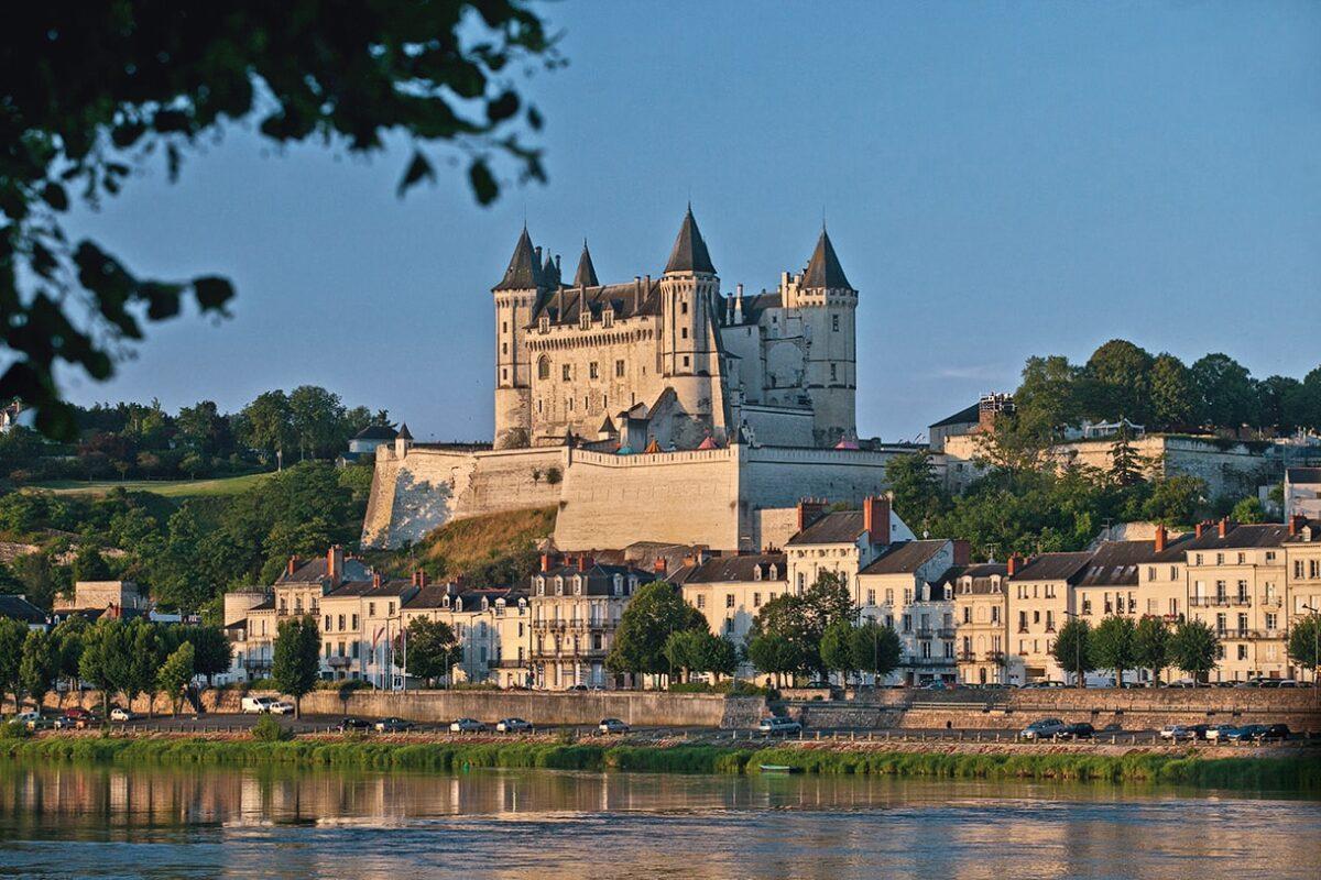 La Loire et le Château de Saumur