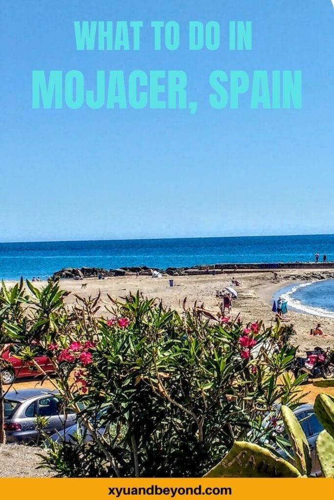 Mojácar in Spain