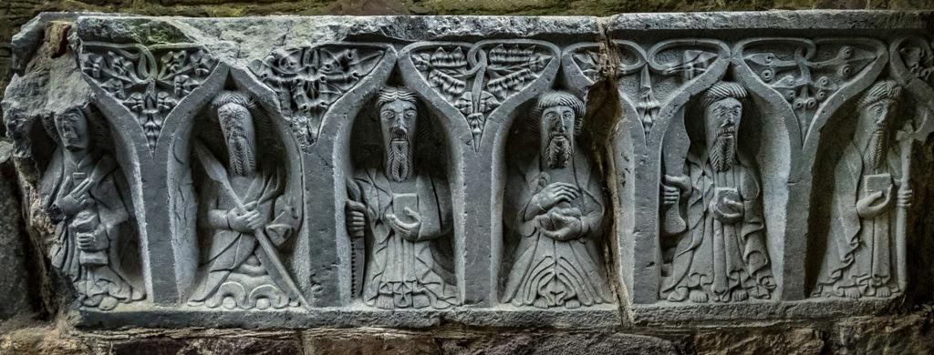 Visiting Jerpoint Abbey Kilkenny