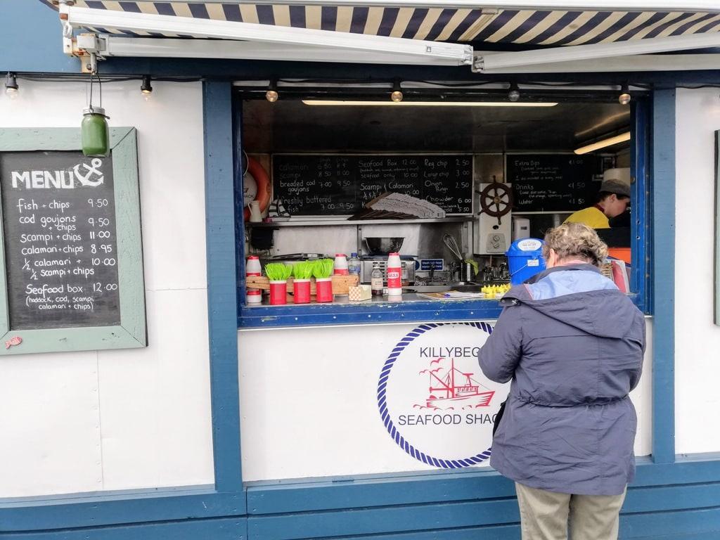 seafood shack Killybegs