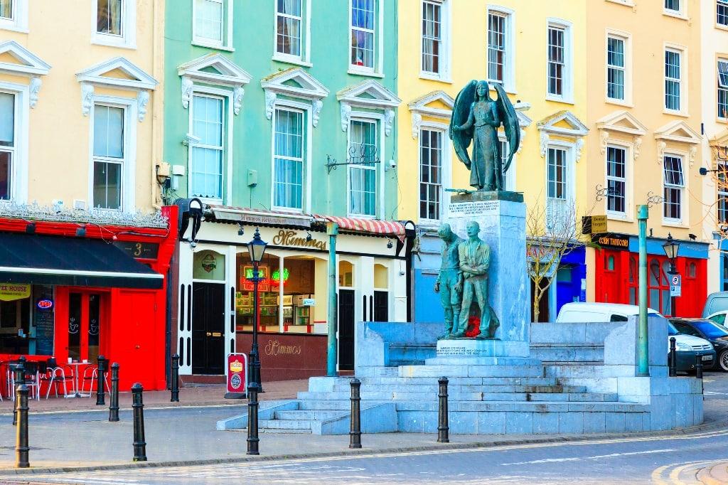COBH, IRELAND - NOVEMBER 26: Lusitania Memorial on November 26, 2012 in Cobh Ireland